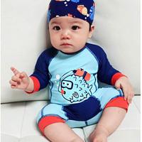 Baju Renang Anak Bayi Baby Laki / cowok Lengan panjang Baby swimsuit I