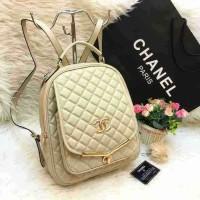 Tas Ransel Chanel Behel Pocket Super Import Quality!