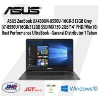 ASUS ZenBook UX430UN-8550U-i7-8550U 16GB-512GB Win 10 Grey Limited
