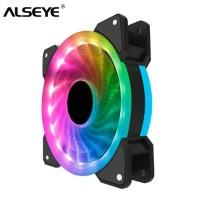 Fan Casing 12cm Alseye D-Ringer with 15 LED Auto RGB Fan Case DRinger