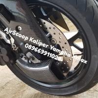 Air Scopp Kaliper Depan Carbon Kevlar Yamaha Xmax 250