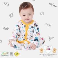 Baju Bayi Tutup Kaki Jumpsuit Bayi Baju Anak Libby Baby 9-12 Boys