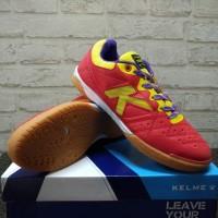 Sepatu futsal Kelme Feline Evo Red Yellow Original