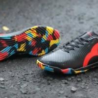Sepatu Futsal Ortuseight Forte Helios IN - Black