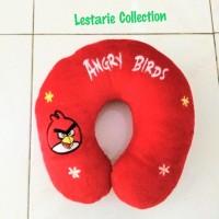 bantal leher angry bird Original