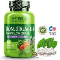 NATURELO - Bone Strength - with Plant Calcium & Magnesium