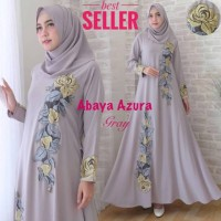 Baju Busana Muslim Wanita Gamis Syari Pesta Abaya Azura Terbaru
