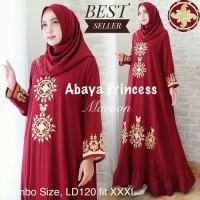 Baju Busana Muslim Wanita Gamis Syari Pesta Abaya Princess Terbaru