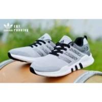 Sepatu Adidas EQT Running Abu Hitam / Sepatu Pria