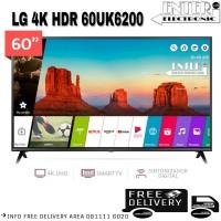 LG LED TV 60UK6200 - SMART TV LED 60 INCH UHD 4K HDR LG 60UK6200PTA