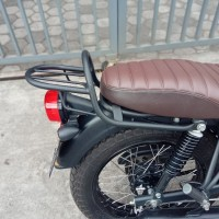 Backrack Kawasaki W175 Black Doff PnP