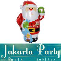 Balon Foil Santa Clause / Balon Foil Natal / Balon Foil Xmas