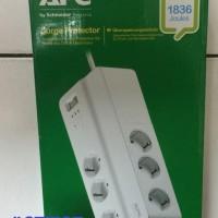 APC PM6GR/PM6-GR, surge protector 6hole Germany , Garansi 2Th
