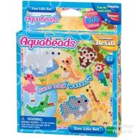 AquaBeads Zoo Life Set Theme Refill - ORI Aqua Beads EPOCH Zoolife