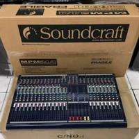Mixer Soundcraft MPM24 / MPM 24 ( 24 Channel ) GRADE A