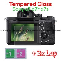 Tempered Glass Anti Gores LCD Kamera Sony Mirrorless Alpha a7 a7r a7s