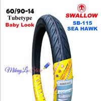 Ban motor Swallow Seahawk 60/90-14   Baby look Style