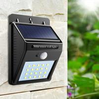 Lampu Taman Tembok Dinding Sensor Solar Tenaga Matahari Surya Outdoor
