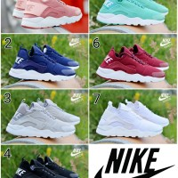 Sepatu Sneakers Unisex Nike Huarce Couple Casual Sport Running Import