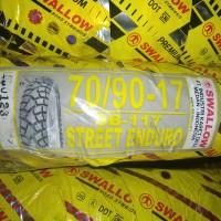 70/90-17 Sb 117 Street Enduro, ban motor ring 17 merk Swallow