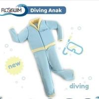 cuddle me floswim size M baju renang ngapung anak