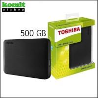 HDD Toshiba Canvio 500GB USB 3.0 - Harddisk External Original