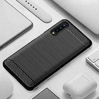 Samsung A7 2018/ A750 - Carbon Fiber Case Rugged Armor Spigen hitam