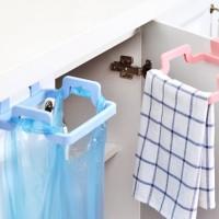 Gantungan Kantong Plastik Tempat Sampah Dapur Garbage Bag Holder