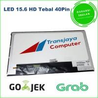 Layar lcd led laptop Asus A53, Asus A53S LED 15.6 tebel 40pin