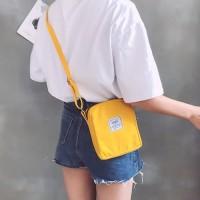 TS63 Korea Wendjie mini sling bag / Tas Selempang / Cross Body Sling - grey