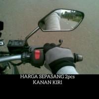 Kaca Spion Motor Tangkai Tiang Gagang Mini Pendek Honda Yamaha Suzuki