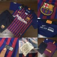 Jersey baju bola anak kids Barcelona barca home kids official 2018 201