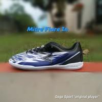 Mitre Flare IN Sepatu Futsal - Black/Blue/White