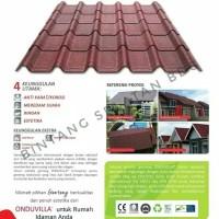ATAP SIRAP BITUMEN ONDUVILLA ONDUVILA 1060MM X 400MM roofing ONDUVILA