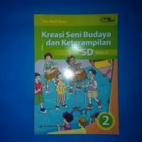 Buku Kreasi Seni Budaya Dan Keterampilan Untuk SD Kelas 2 Erlangga