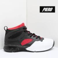 Sepatu Basket Piero Commander Hitam Putih Original Asli Murah