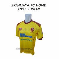 GRADE ORI BAJU OLAHRAGA KAOS OLAHRAGA JERSEY LOKAL SRIWIJAYA FC HOME