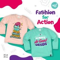 SALE !!! Afrakids Size XL Kaos Lengan Panjang Baju Bayi Anak Muslim
