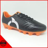 Sepatu Bola Ortuseight Mirage FG Black Orange Original