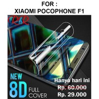 Hydrogel screen guard Xiaomi Pocophone F1 anti gores full layar cover
