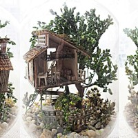DIY Miniature House - Four season