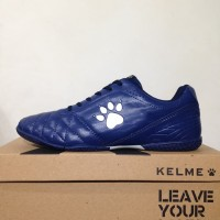 Sepatu futsal / putsal / footsal Kelme Power Grip Navy Silver 1102107