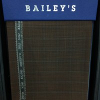 KAIN/BAHAN STELAN JAS/CELANA Wool BAILEY'S Mode in ENGLAND