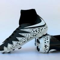 sepatu bola nike hypervenom high hitam putih terlaris