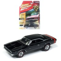 Johnny Lightning 1/64 1968 Dodge Charger R/T Black