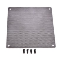 Filter Fan mesh ukuran 14cm x 14cm (plat besi bukan kain)
