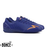Sepatu Futsal Specs Accelerator Exocet IN - Deep Blue Mango Orange