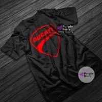 Baju Kaos Motor DUCATI Tshirt Otomotif Motorcross Balap VR Murah -789