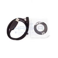 Baofeng Kabel Program HT Cina Programming Cable USB UV5R UV5RA UV5RE