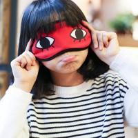 Anime Gintama Okita Sougo cosplay masker mata Penutup Mata Kartun